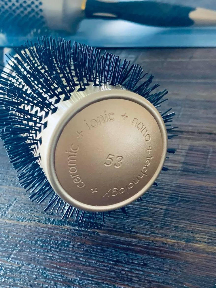 iCandy ALL STAR Thermal Ionic Barrel Hair Brush - 53mm