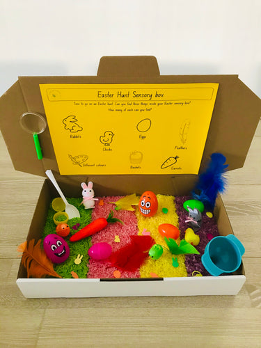 Easter Hunt Sensory box
