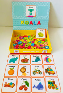 Magnet Play Box - Words and Numbers