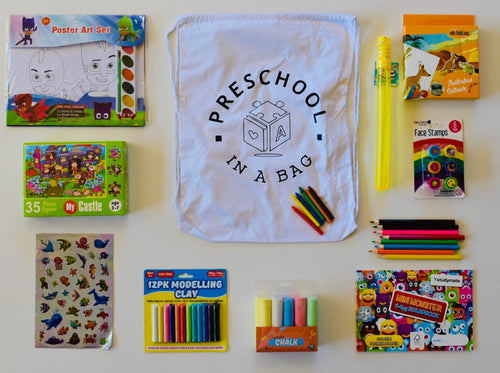 Preschool in a bag - Stay at home edition