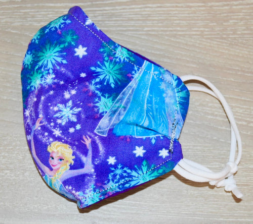 Frozen Kids Cotton Mask - Small (3-5 year)