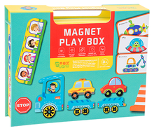 Load image into Gallery viewer, Magnet Play Box - Transport