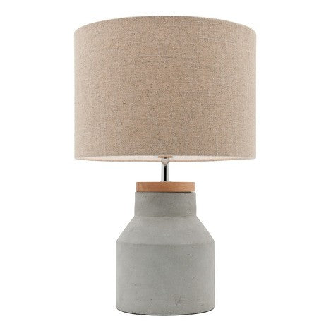 Concrete and Timber Lamp