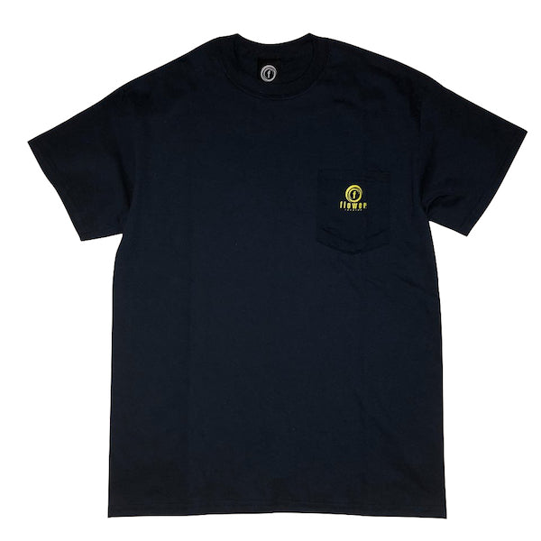 FLOWER RECORDS LOGO POCKET TEE