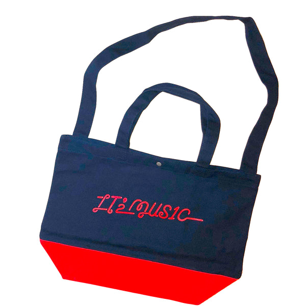 """IT'2 MUS1C"" 2WAY TOTE BAG"