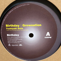 Birthday・Grownation / Toshiyuki Goto