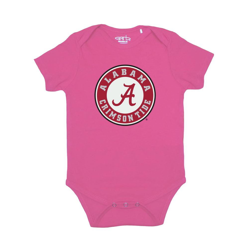 Alabama Crimson Tide Infant Practice Bodysuit - Pink