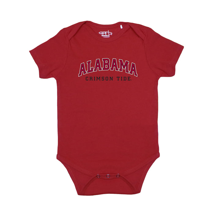 Alabama Crimson Tide Infant Practice Bodysuit - Crimson Red
