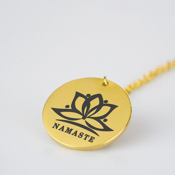 Collar Namaste - Stainless Steel