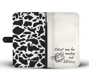 fundas para celular Veganos Cows Are For Mooing