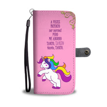fundas para celular Unicornio A veces Intento Ser Normal Pero me Aburro Tanto