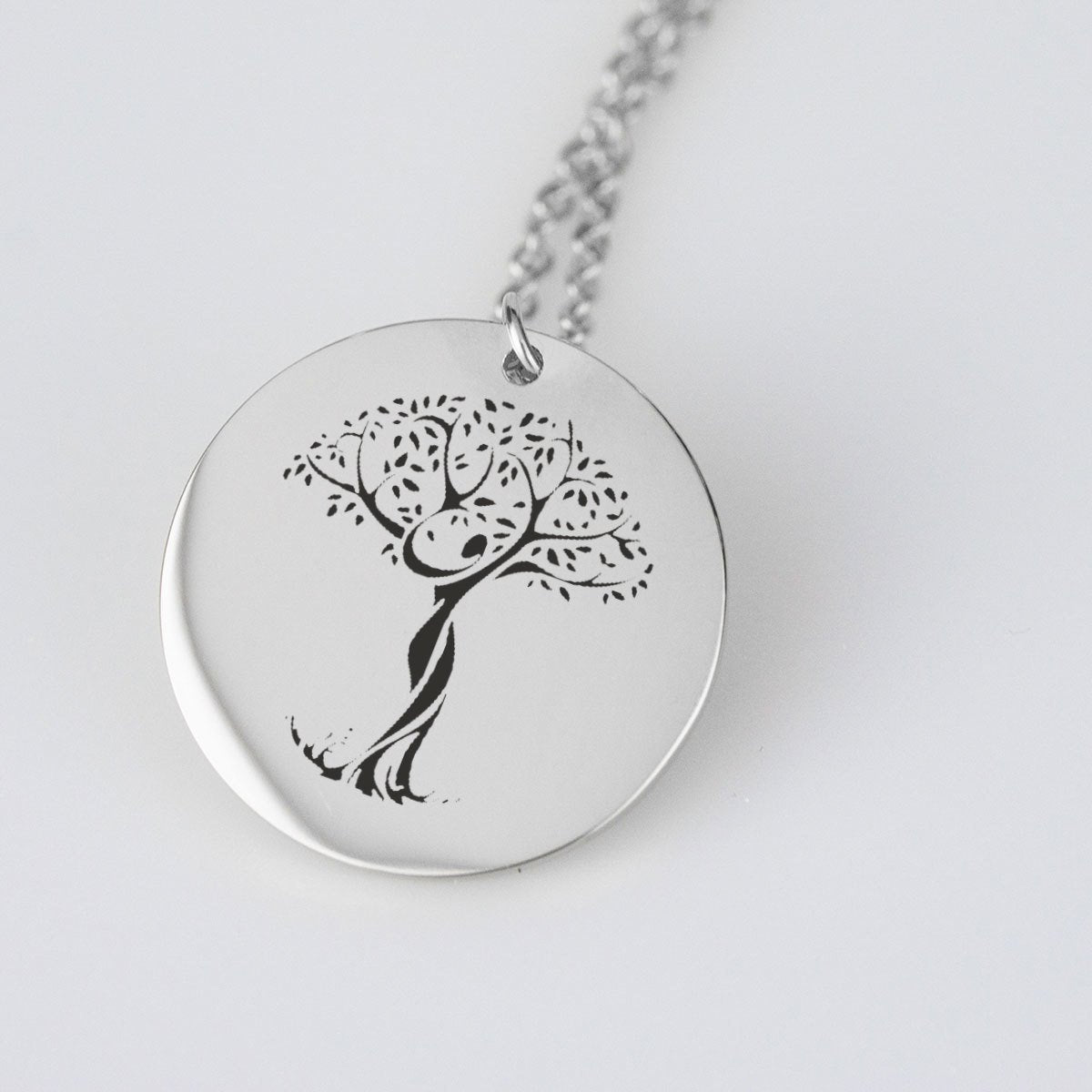Collar Arbol de la Vida -Under A Tree Meditation - Gold Pendant