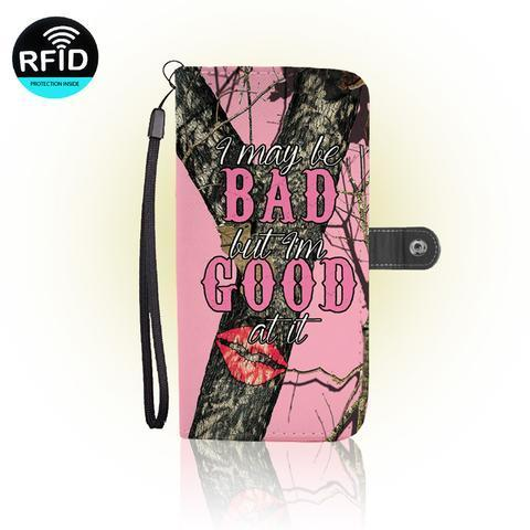 Fundas para Celular Frases I may be Bad