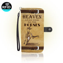 Fundas para Celular Heaven A Place Where All Horses Greet you