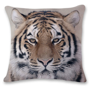 Big Cat Pillow Case/Cushion Cover