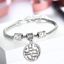 Inspirational Bangle No Longer By My Side But Forever In My Heart Adjustable Ban