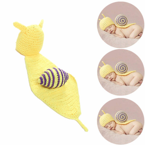 Adorable Handmade Snail Baby Suit