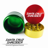 Santa Cruz Shredder 3 Piece Grinder by Santa Cruz Shredder Rasta