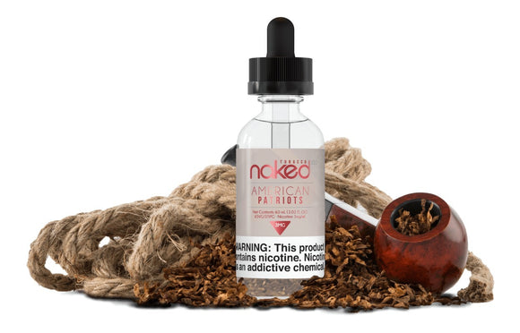Naked 100 American Patriot 60ml E-Liquid