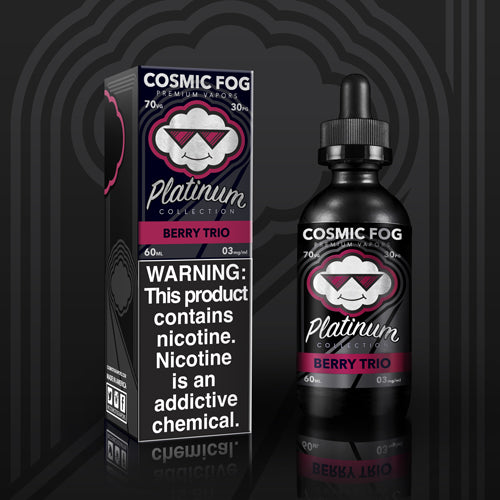 Berry Trio Platinum Collection E-Liquid 60 ML by Cosmic Fog