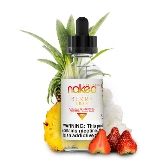 Naked 100 Berry Lush 60ml E- Liquid