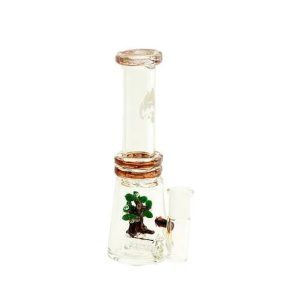 Empire Glassworks - Mini Beaker Nova Oak