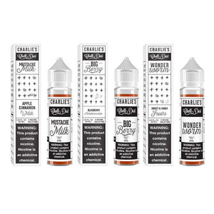 Charlie's Chalk Dust White Collection 60ml Vape Juice