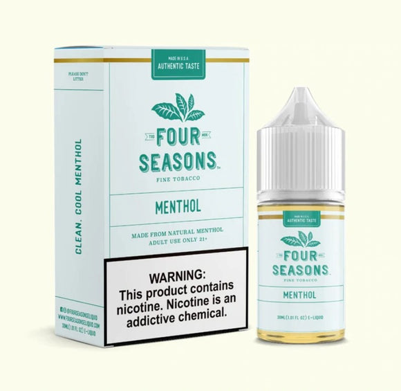 Four Seasons E-Liquids Collection 30ml E-Liquid