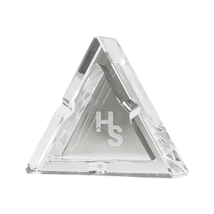 Premium Crystal Ashtray by Higher Standards