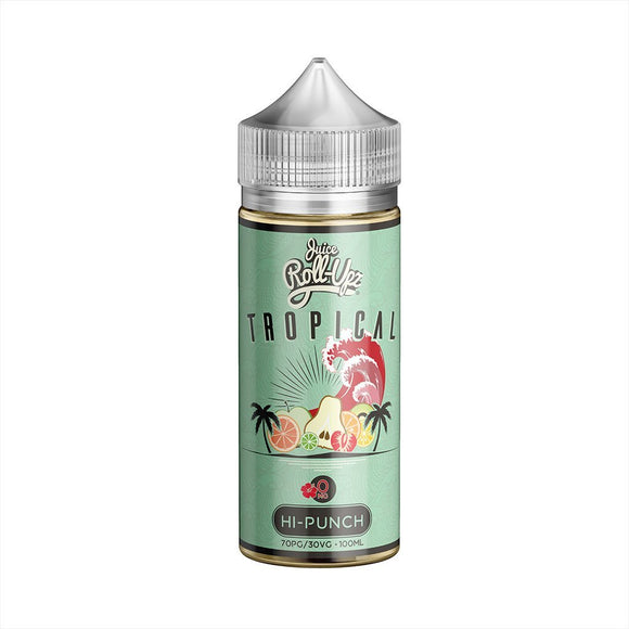 Juice Roll Upz Tropical Collection Hi-Punch E-liquid 100ml E-liquid by Juice Roll Upz