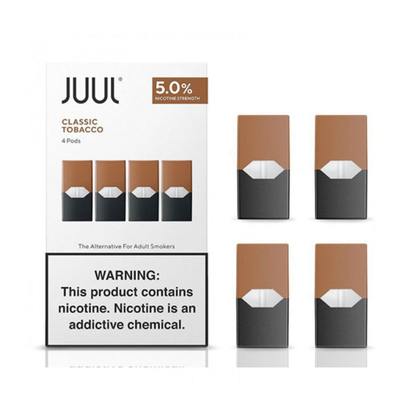 JUUL E-Liquid Replacement Pods 4 Pack
