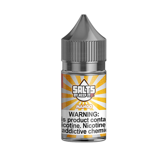 Keep It 100 Salts Collection Mango 30ml Nic Salt Vape Juice