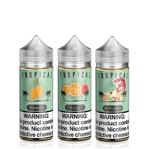 Juice Roll Upz Tropical Collection 100ml E- Liquid