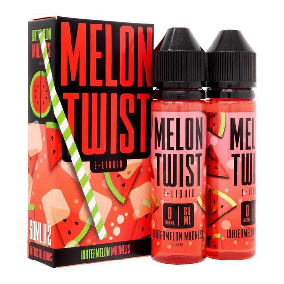 Melon Twist Collection Watermelon Madness 2x60ML/120ML E-Liquid