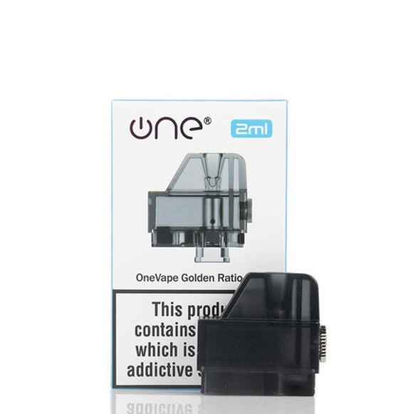 OneVape Golden Ratio Pod Cartridge (COILS NOT INCLUDED)