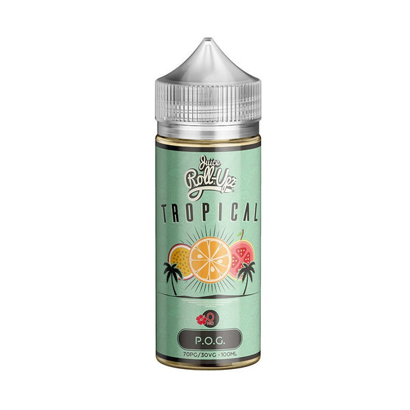 Juice Roll Upz Tropical Collection Tropical POG E-liquid 100ml E-liquid by Juice Roll Upz
