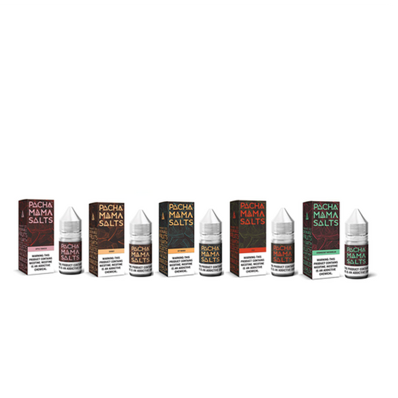 Pachamama Salts Collection 30ml Nic Salt Vape Juice