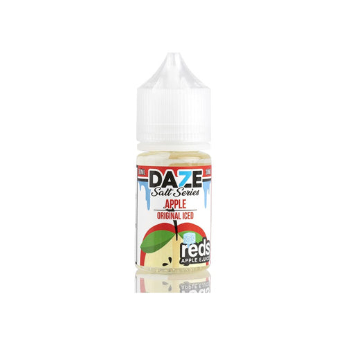 Red's Salts Apple ICED 30ml Nic Salt E-Liquid by 7 Daze