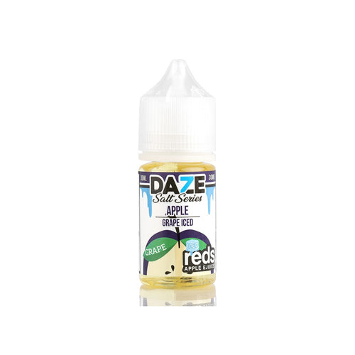 Red's Salts Grape ICED 30ml Nic Salt E-Liquid by 7 Daze