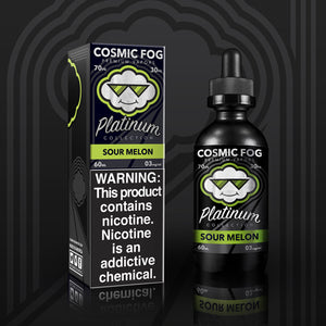 Sour Melon Platinum Collection E-Liquid 60 ML by Cosmic Fog