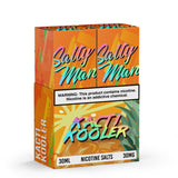 Salty Man Twin Pack Salt Nic Collection 2x30ml/60ml Salt E-Liquid