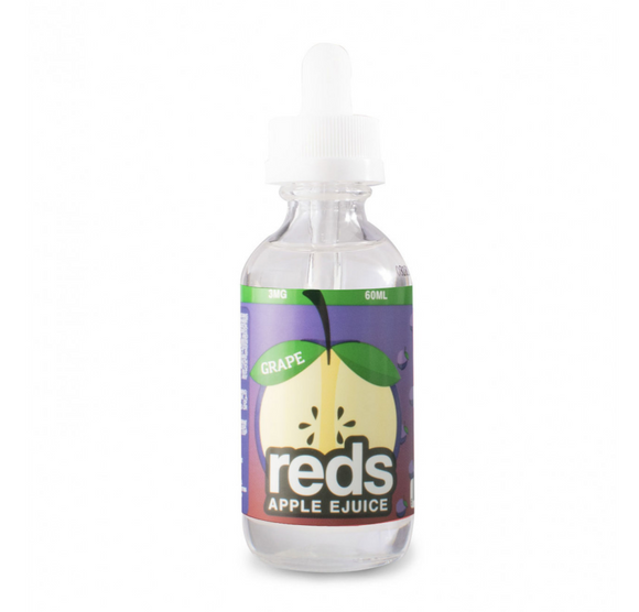 Grape Red's Apple EJuice 60 ML by 7 Daze