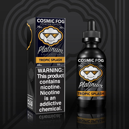 Tropical Splash Platinum Collection E-Liquid 60 ML by Cosmic Fog