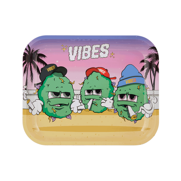 Vibes Buds For Life Rolling Tray