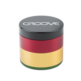 Areospaced Groove 4 Piece Grinder with Sifter