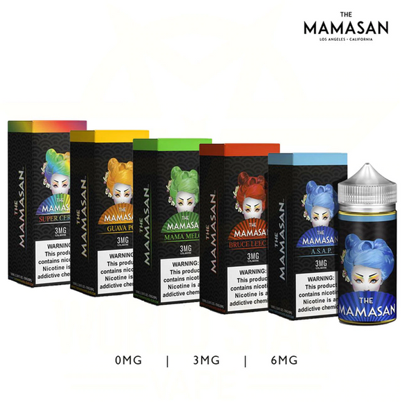 The Mamasan Collection 100ml E-Liquid