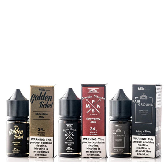 Met4 Salts Collection 30ml Nic Salt E-Liquid
