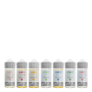 Naked 100 Menthol & ICE Collection 60ml E-liquid