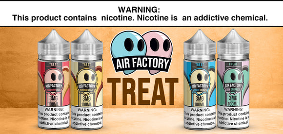 Treat Factory Collection 100ml E-Liquid