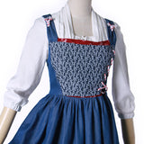 Beauty and the Beast Belle cosplay maid dress